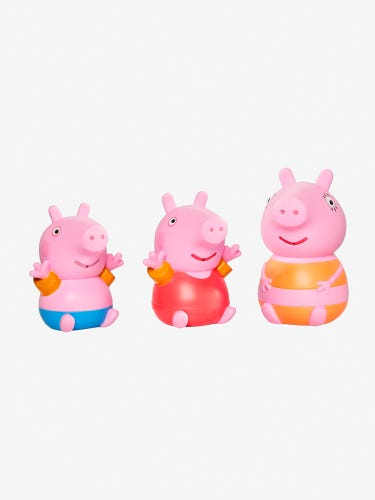 Peppa Mummy Pig Family Bath Squirters