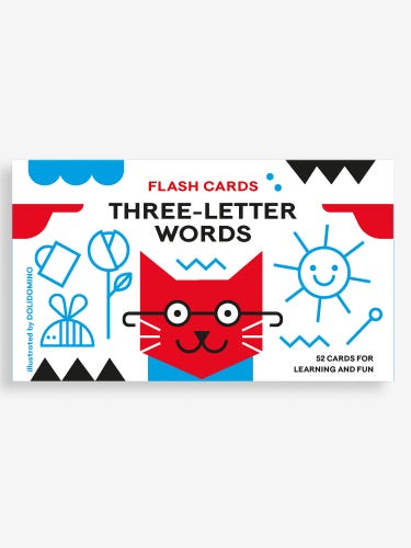 Bright Sparks Flash Cards: Three Letter Words
