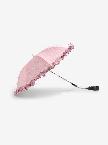 Pink Floral Print Buggy Parasol