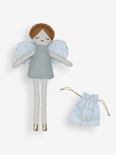 Fabelab Tooth Fairy Doll with Pouch