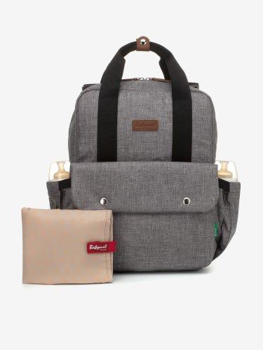 Babymel Georgi Eco Convertible Backpack Grey