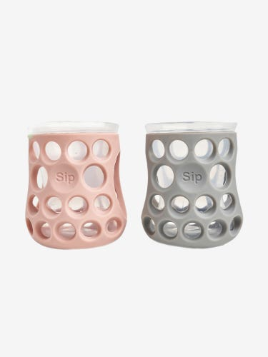 Cognikids Sip Natural Drinking Cup Slate Grey/Blush Pink