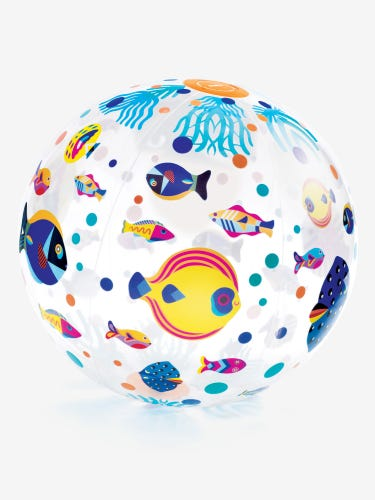 Djeco Inflatable Fishes Ball