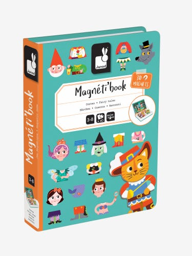 Janod Fairy Tales Magneti'book
