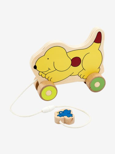 Spot Wooden Pull-Along Toy