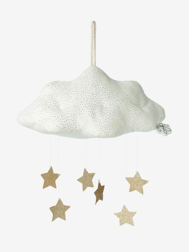 Picca Loulou Fiona Walker Corduroy Cloud (White) with Stars