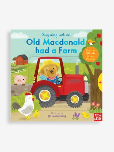 Sing Along With Me! Old Macdonald had a Farm Book