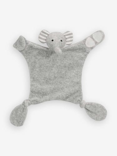 Elephant Comforter & Soother Saver