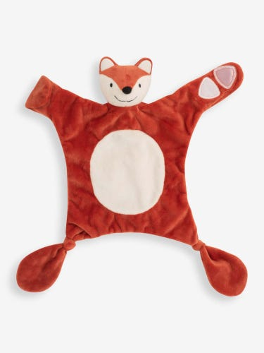 Fox Comforter & Soother Saver