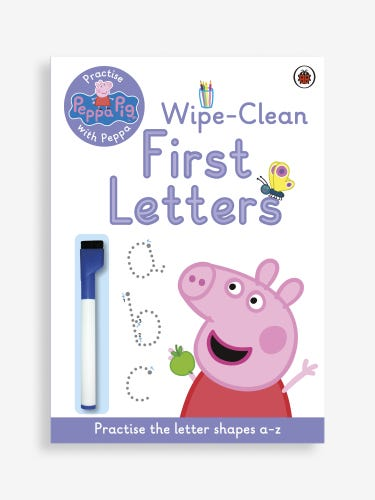 Practise with Peppa: Wipe-Clean First Letters