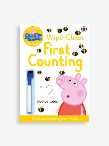 Practise with Peppa: Wipe-Clean First Counting