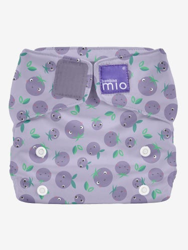 Bambino Mio Miosolo All in One Reusable Nappy - Berry Bounce