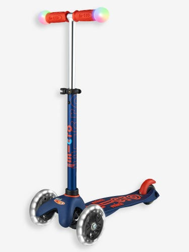 Mini Micro Deluxe LED Magic Scooter Navy