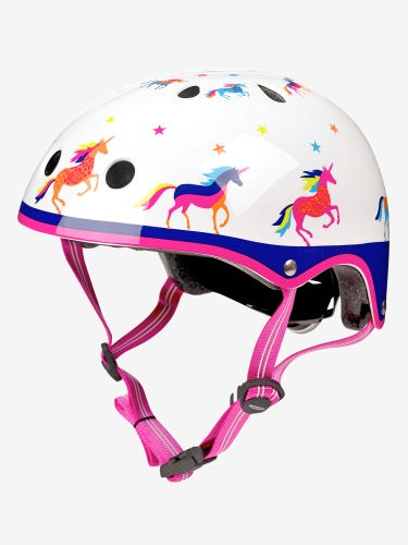 Micro Scooters Deluxe Unicorn Curved Helmet Small