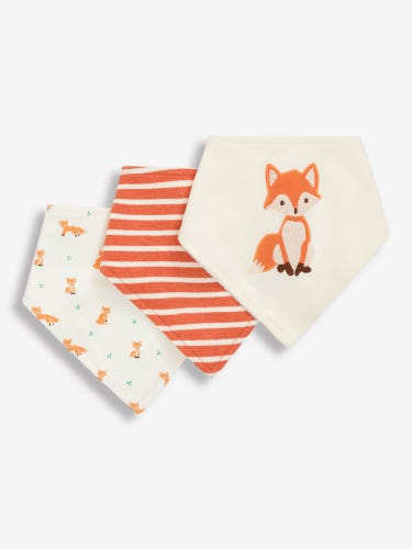3-Pack Fox Dribble Bibs