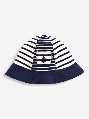Stripe Baby Sun Hat
