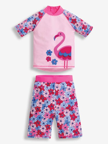 Flamingo 2-Piece Sun Protection Suit