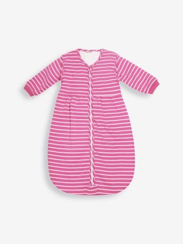Fuchsia Pink Stripe 3.5 Tog Baby Cosy Sleeping Bag