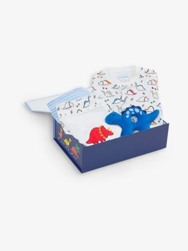 New Baby Dinosaur Gift Set 0-3 Months