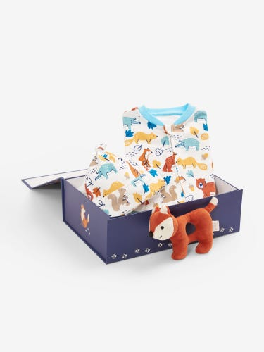 Cosy Woodland Gift Set 0-3 Months