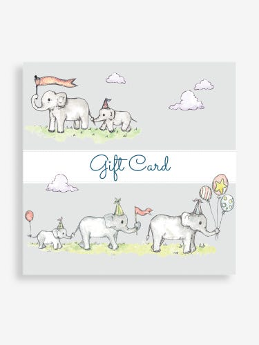 Grey Elephant Email Gift Card