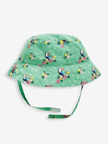 Girls' Pretty Toucan Sun Hat