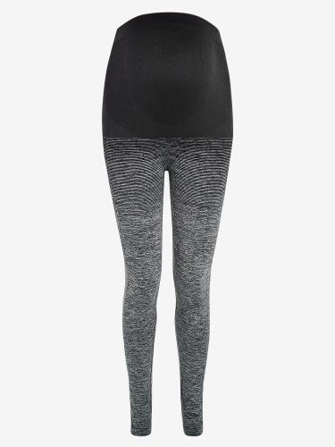 Grey Ombré Active Support Maternity Leggings