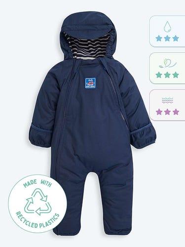 Navy Waterproof Fleece Lined All-In-One