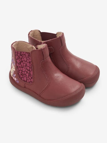 Start-Rite Berry Mouse Leather Boots