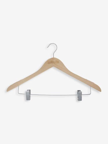 Set of 24 Full Size Wooden Hangers
