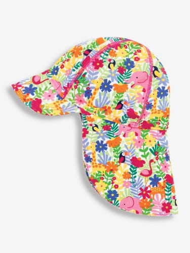 Girls' Jungle Sun Protection Hat