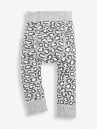 Leopard Print Extra Thick Baby Leggings