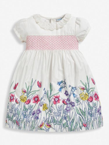 Girls' Meadow Frill Collar Party Dress