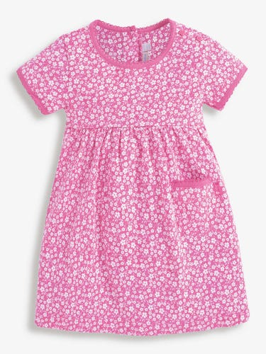 Girls' Floral Summer Dress