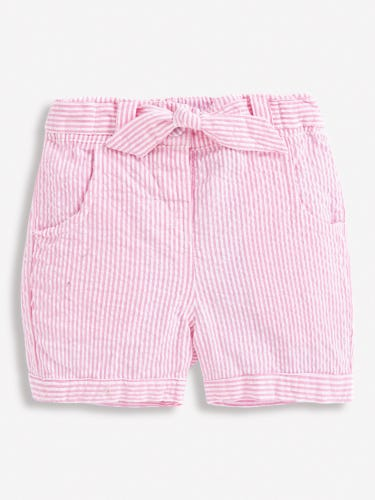 Girls' Pretty Seersucker Stripe Shorts