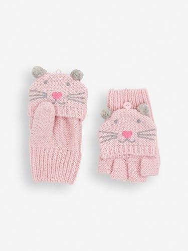 Pink Cat Gloves
