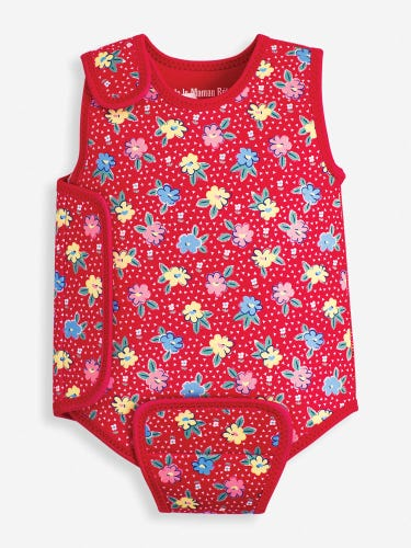 Floral Print Baby Wetsuit