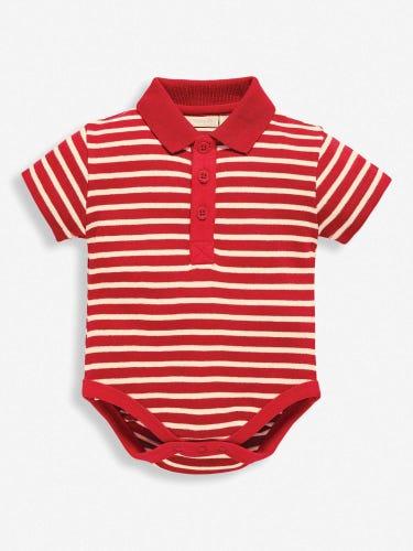 Navy Ecru Stripe-outfit