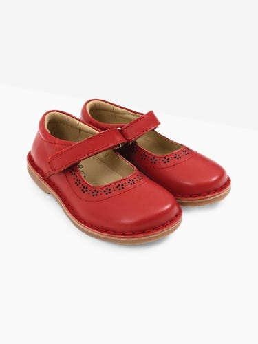 Leather Mary Jane Shoes