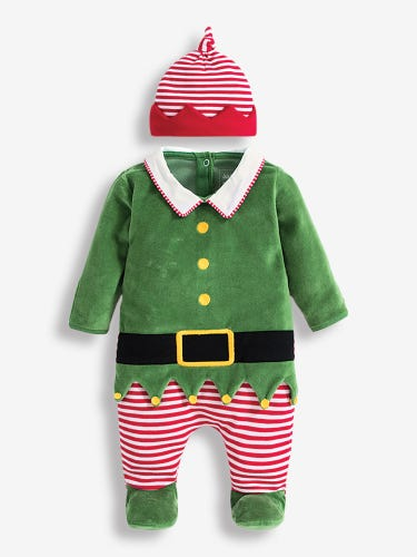 2-Piece Baby Elf Outfit Set