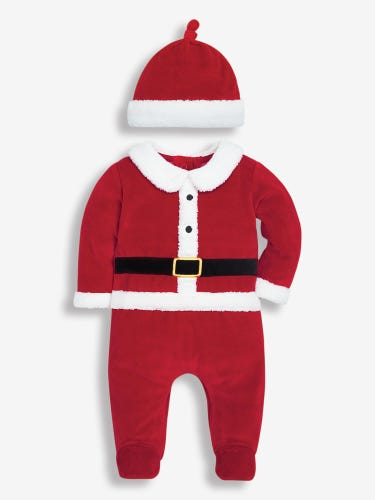 Father Christmas Baby Set with Hat
