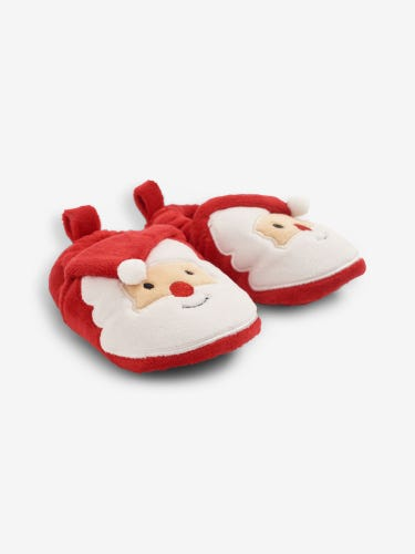 Kids' Father Christmas Slippers