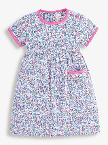Girls' Ditsy Floral Summer Dress