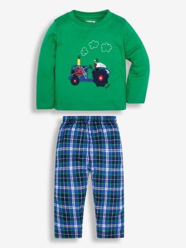 Kids' Tractor Mix & Match Pyjamas