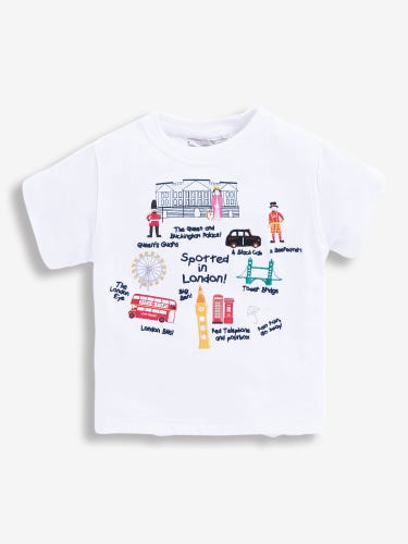 Kids' Spotted in London T-Shirt