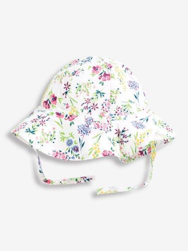 Floral Floppy Sun Hat