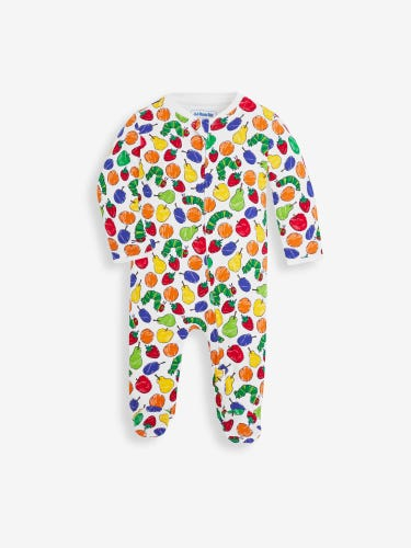 The Very Hungry Caterpillar Baby Sleepsuit