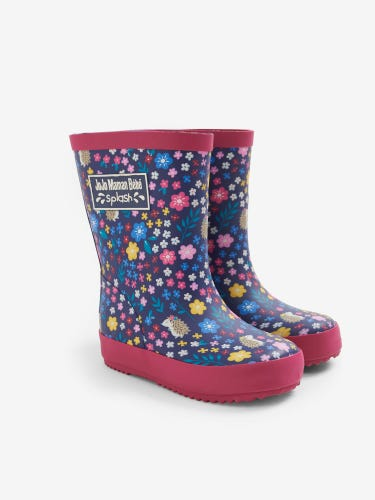 Woodland Patterned Children's Wellies